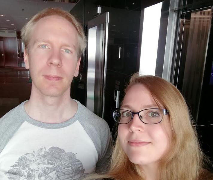 Häirintäyhdyshenkilöt Eino Partanen ja Mari Maila.